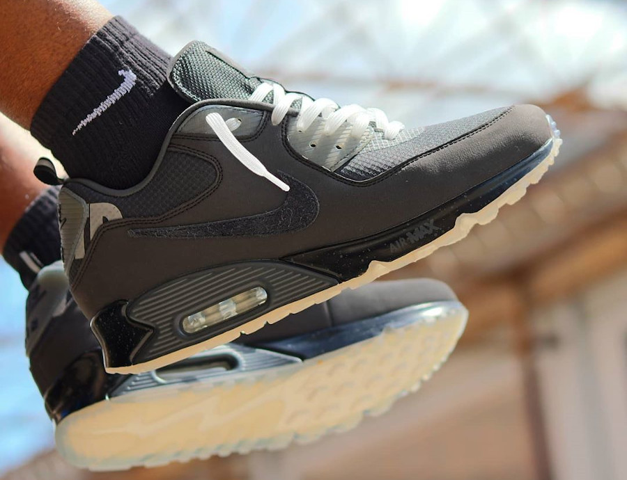 Nike Air Max 90 UNDFTD Undefeated Black CQ2289-002 (1)
