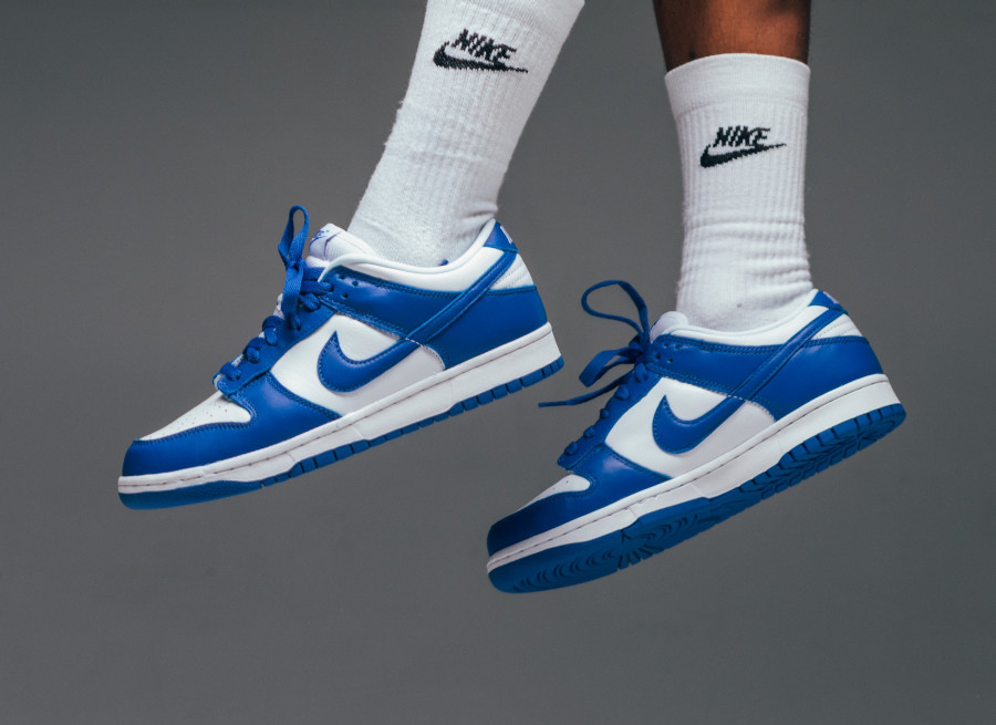 Nike Dunk Low SP Kentucky Varsity Royal 2020 CU1726