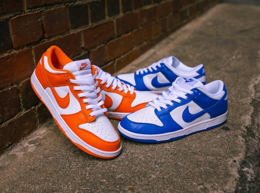 Nike Dunk Low SP 'Syracuse' Orange Blaze (Be True To Your School) (1)