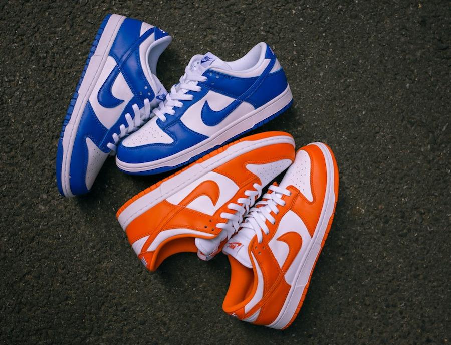 Nike Dunk Low SP 'Syracuse' Orange Blaze (Be True To Your School) (2-1)