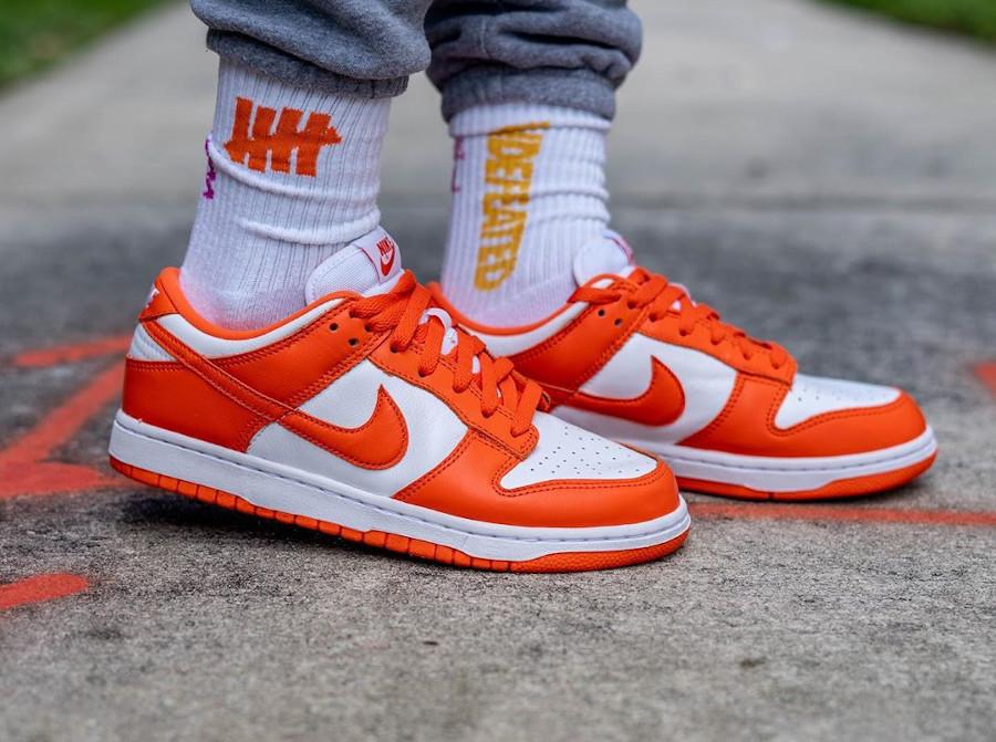 Nike Dunk Low SP 'Syracuse' Orange Blaze (Be True To Your School) (3)