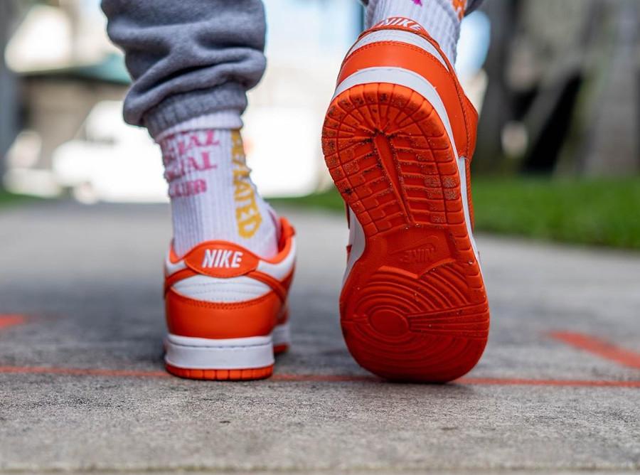 Nike Dunk Low SP 'Syracuse' Orange Blaze (Be True To Your School) (4)