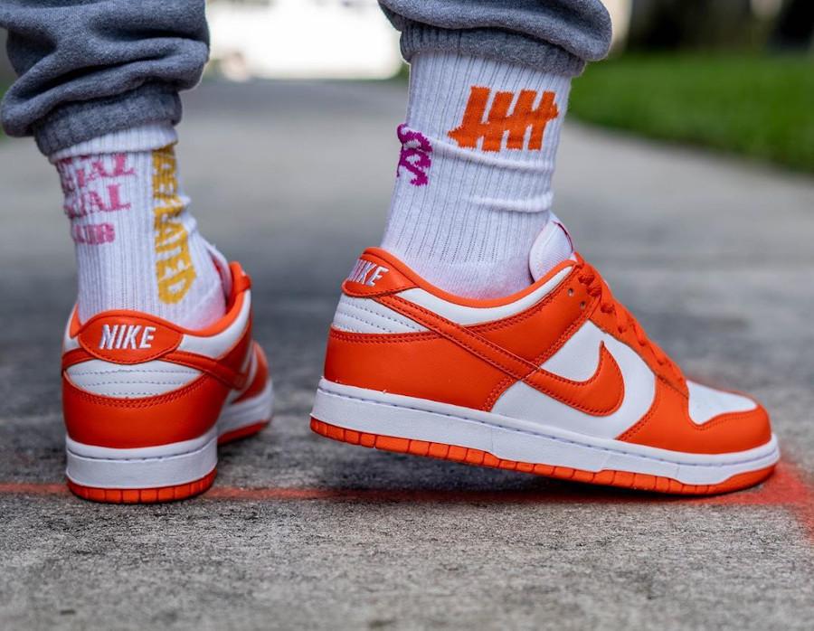 Nike Dunk Low SP 'Syracuse' Orange Blaze (Be True To Your School) (5)