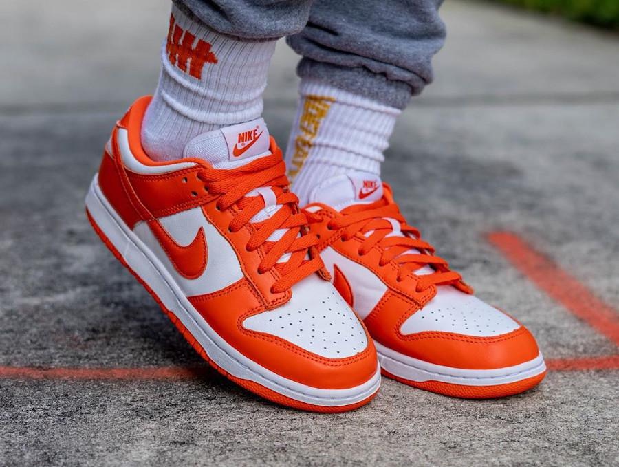 Nike Dunk Low SP 'Syracuse' Orange Blaze (Be True To Your School) (6)