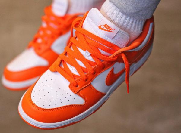 Nike Dunk Low SP Syracuse Orange Blaze CU1726-101