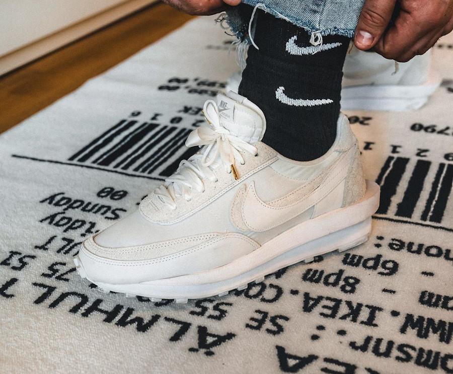 Nike LDWaffle Sacai 2020 blanche 'White' BV0073-101 (2)