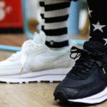 Sacai x Nike LD Waffle 'Black'