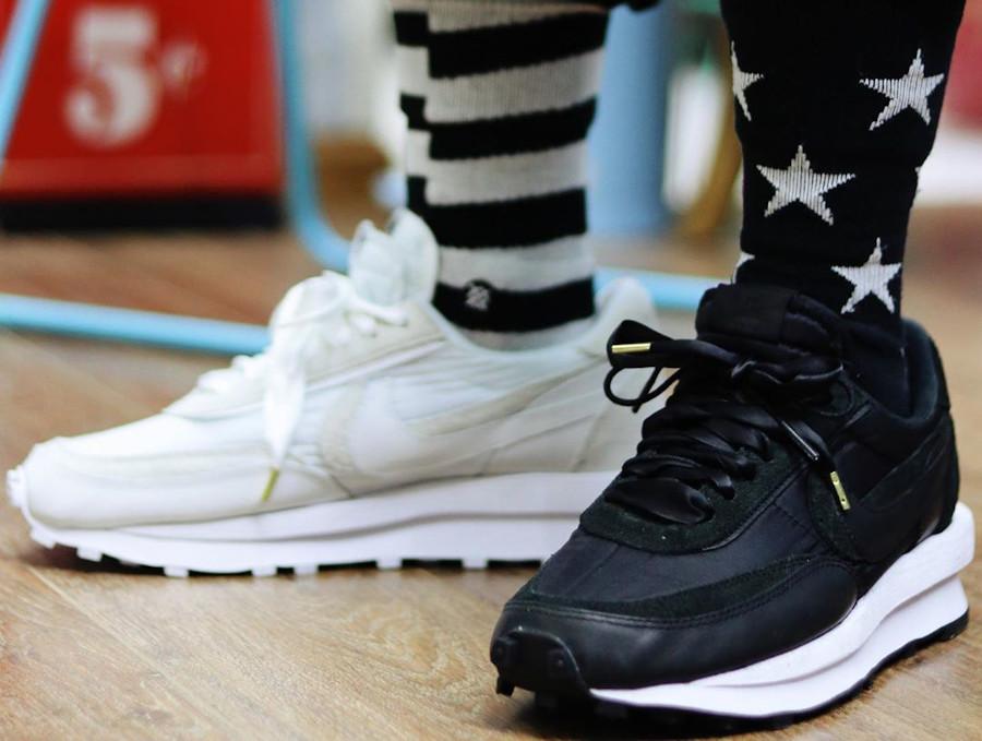 Nike LDwaffle Sacai Noir Black Nylon BV0073-002