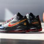 Nike Lebron 7 QS Fairfax 2020 Black Varsity Maize