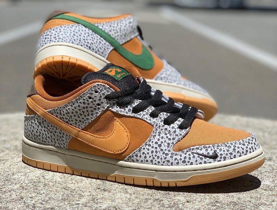 Nike SB Dunk Low Atmos Safari 2020 (1)