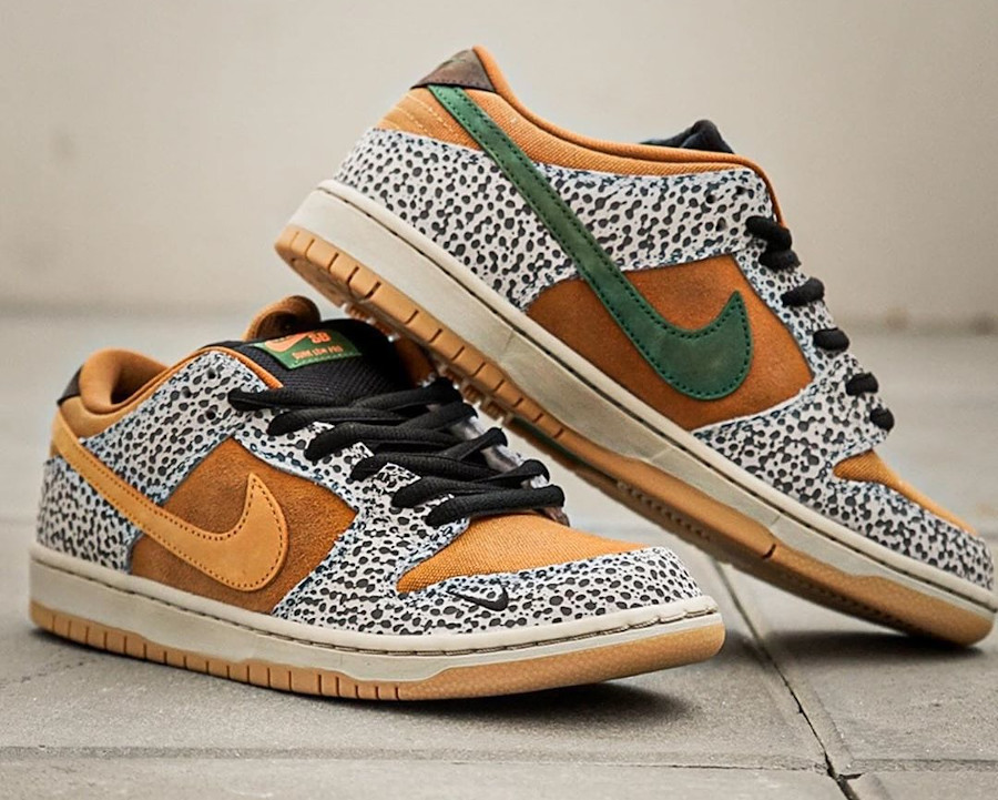Nike SB Dunk Low Atmos Safari 2020 (2)