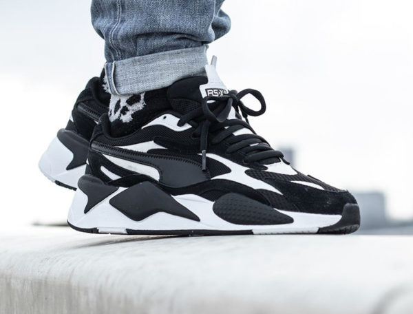 Que vaut la Puma RS X3 Super 'Black White' 372884 07 ?