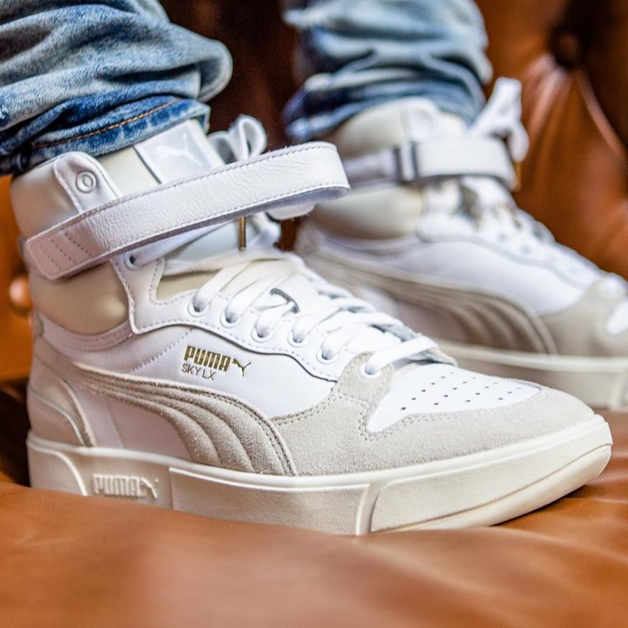 Puma Sky LX Mid 'Whisper White Grey' 2020 372870 01