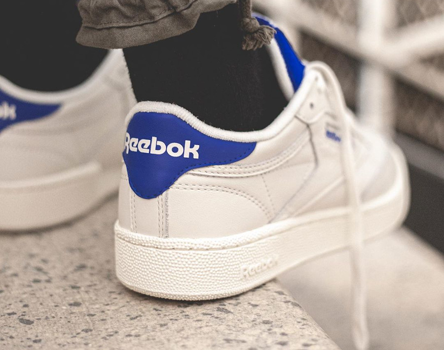 Reebok Club C 85 MU Chalk Humble Blue (2)