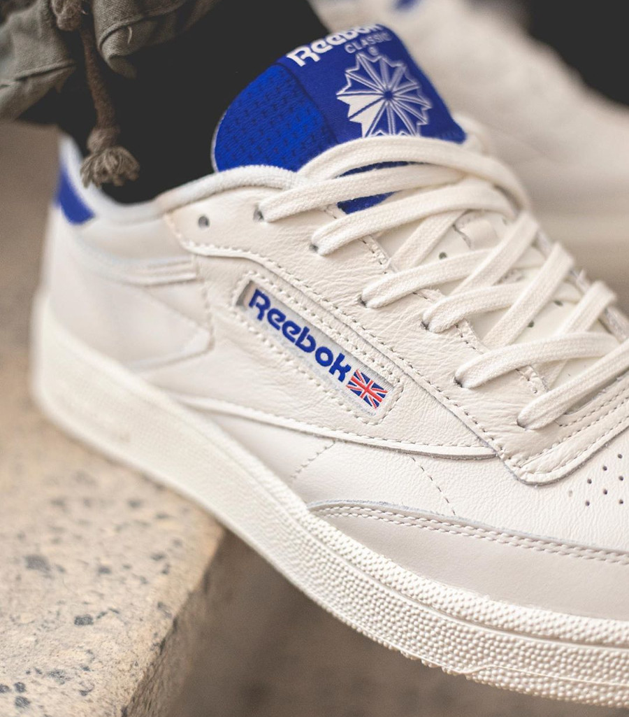 Reebok Club C 85 MU Chalk Humble Blue (3)