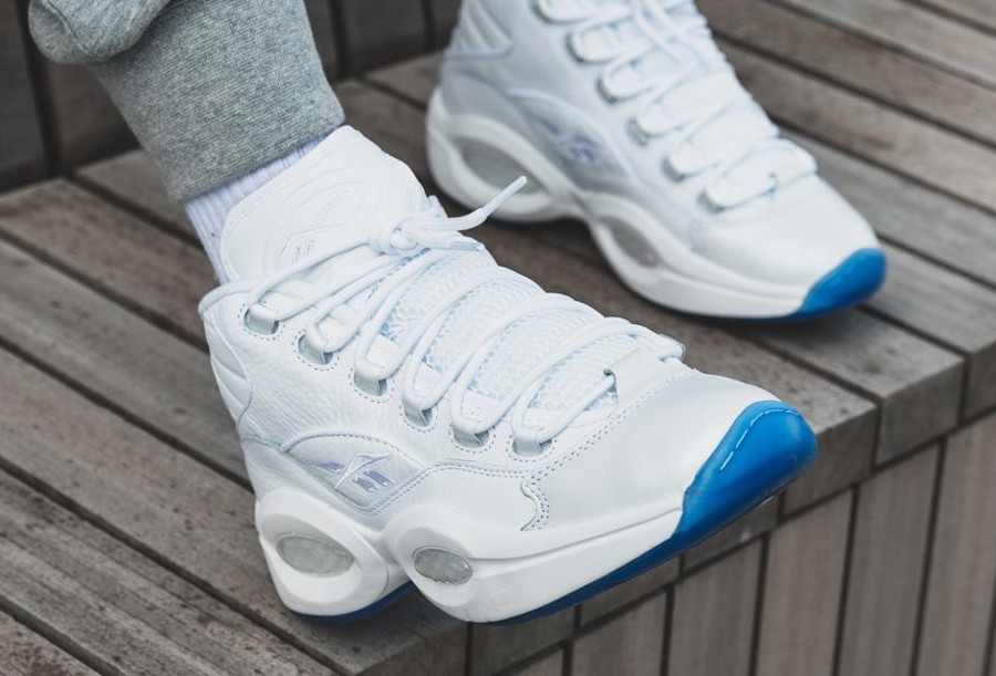 Reebok Question Mid 'Triple White' (2)
