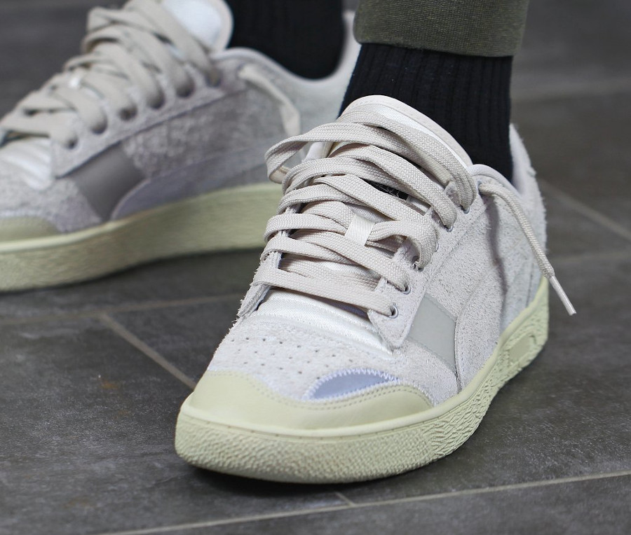 Rhude x Puma Ralph Sampson Lo Whisper White (2)