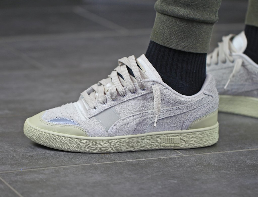 Rhude x Puma Ralph Sampson Lo Whisper White (3)