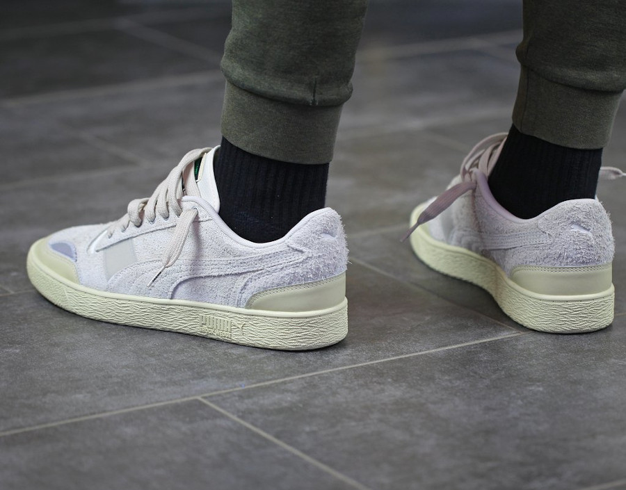 Rhude x Puma Ralph Sampson Lo Whisper White (4)