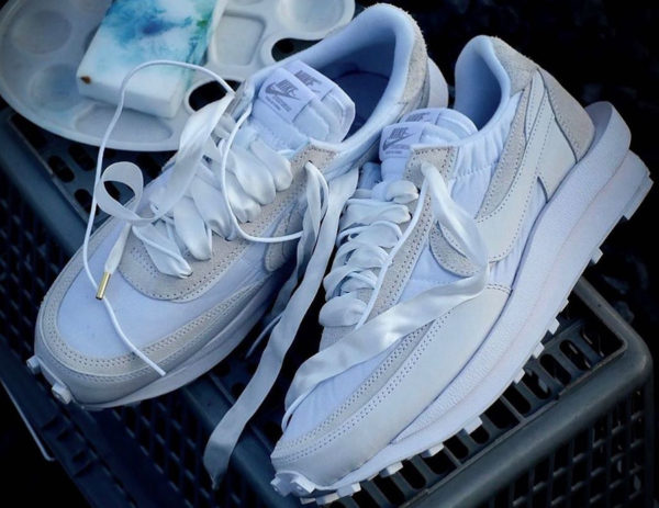 Sacai x Chitose Abe x Nike LDWaffle 2020 'White' (1)