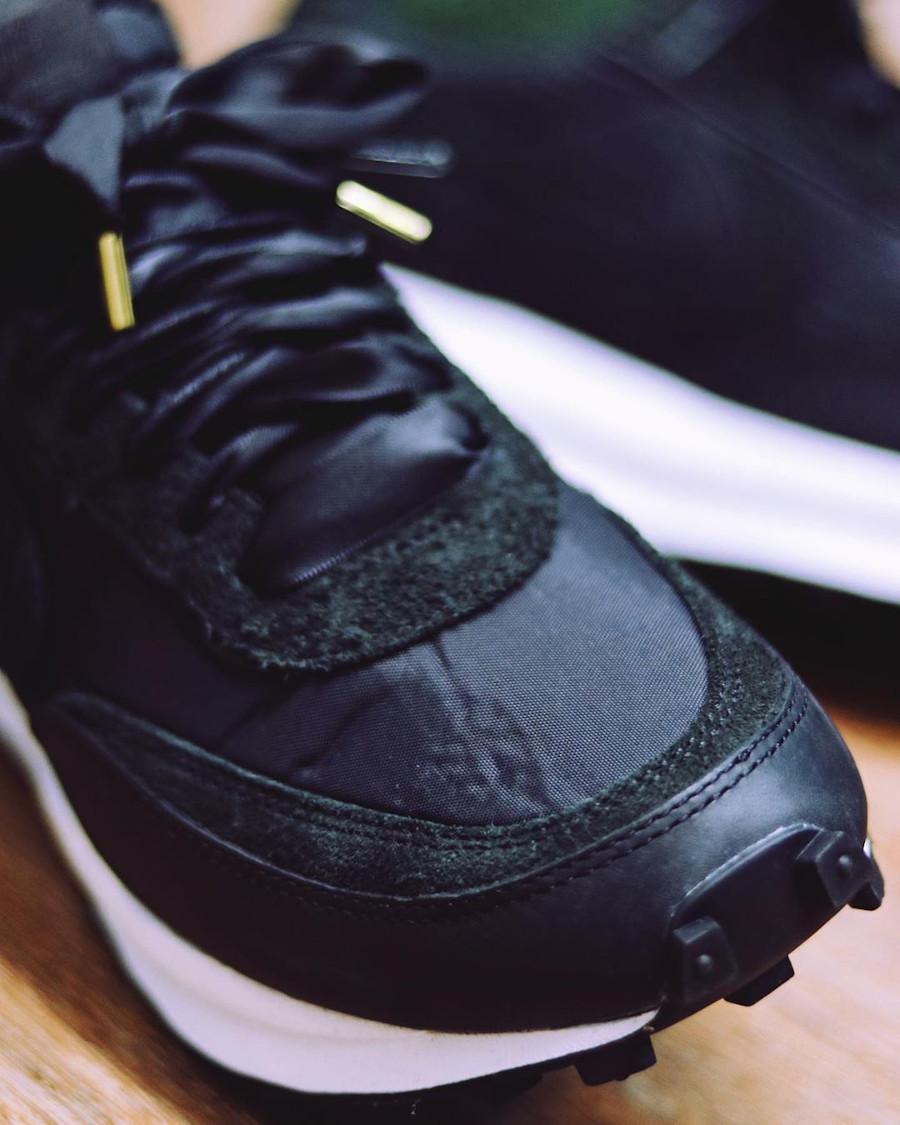 Sacai x Nike LD Waffle Black (1)