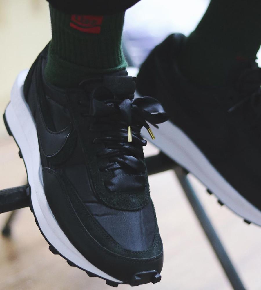 Sacai x Nike LD Waffle Black (3)