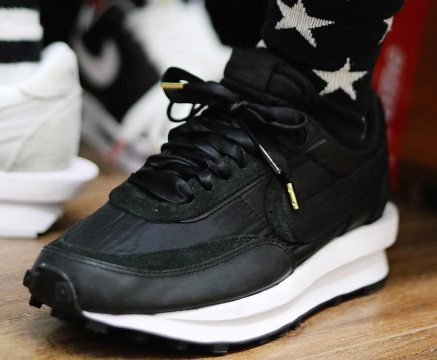 Sacai x Nike LD Waffle Black (4)