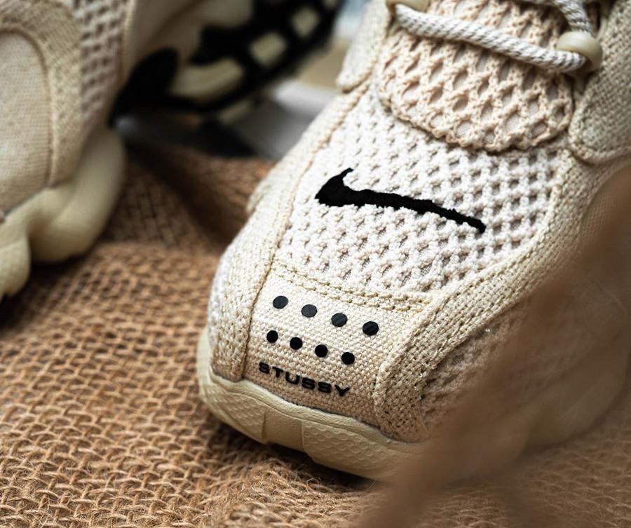 Stüssy x Nike Air Zoom Spiridon Cage 2 'Fossil' (Travis Scott) (4)