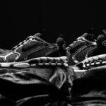 Stüssy x Nike Air Zoom Spiridon Cage 2 'Pure Platinum Black'