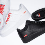 Supreme x Nike Air Force 1 Low 2020 'White & Black'