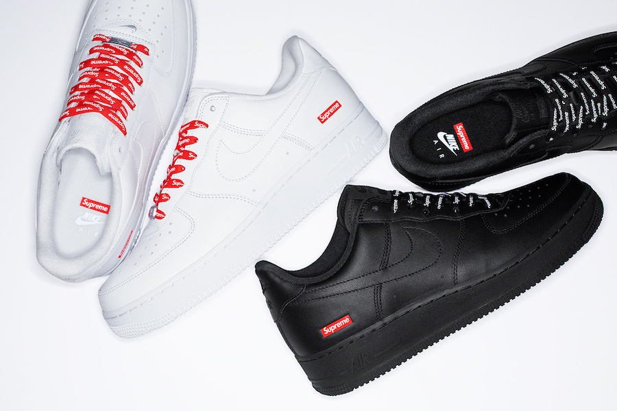 Que valent les Nike Air Force 1 Low Supreme White & Black