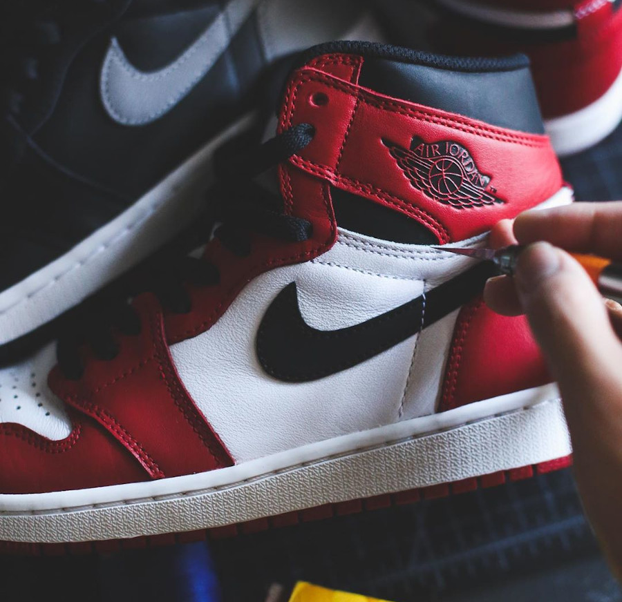 Union Los Angeles x Air Jordan 1 High Retro 'Chicago Shadow' (1)