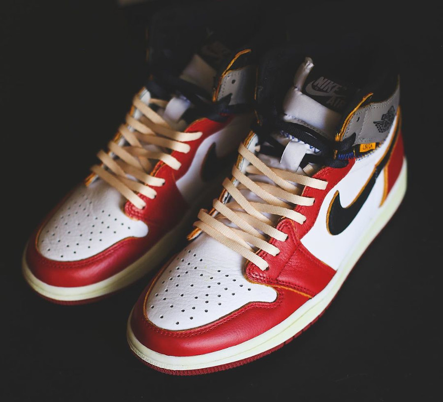 Union Los Angeles x Air Jordan 1 High Retro 'Chicago Shadow' (4)