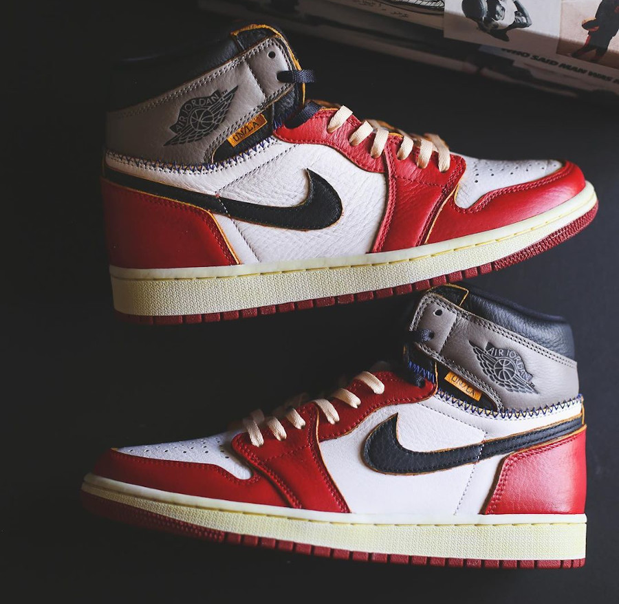 Union Los Angeles x Air Jordan 1 High Retro 'Chicago Shadow' (5)