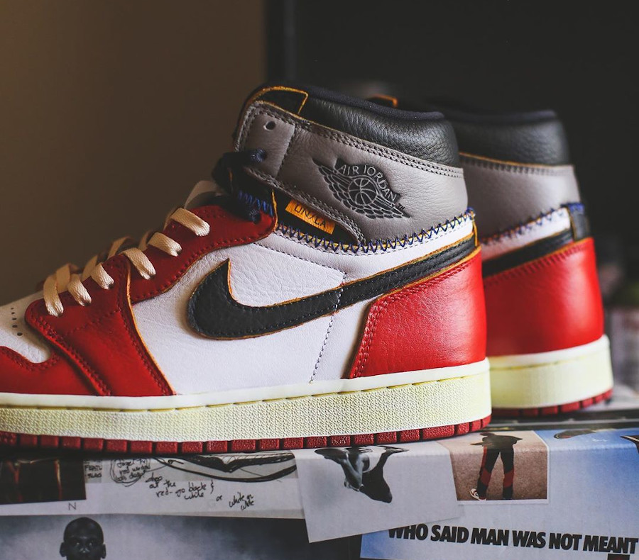 Union Los Angeles x Air Jordan 1 High Retro 'Chicago Shadow' (6)