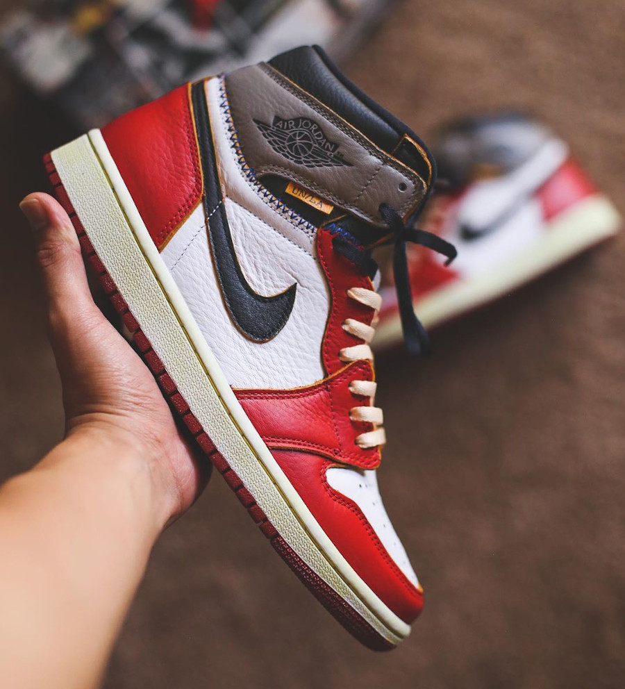 Union Los Angeles x Air Jordan 1 High Retro 'Chicago Shadow' (8)