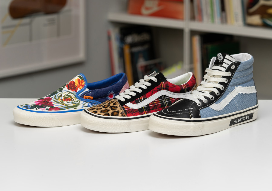 Vans Old Skool Size Exclusive 2020 Three Stages of Punk