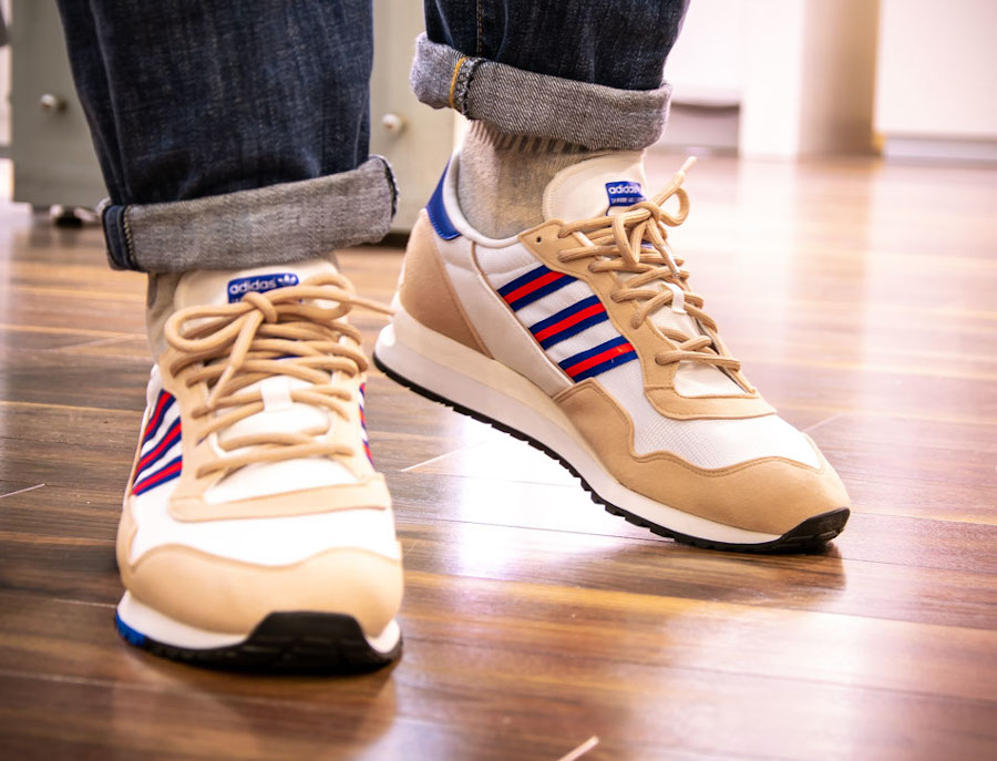 Adidas Lowertree 'Off White Hi Res Red Team Royal Blue' (4)