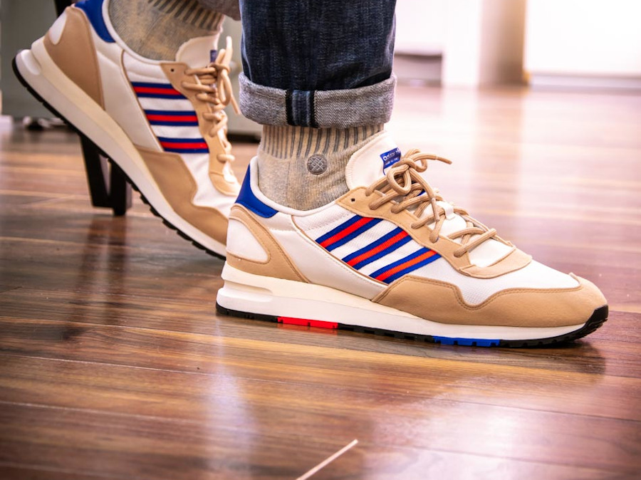 Adidas Lowertree 'Off White Hi Res Red Team Royal Blue' (5)