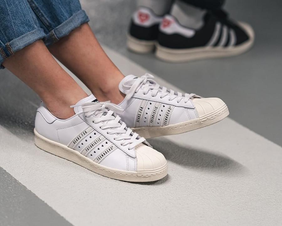 Adidas Superstar 80 Human Made FY0730 (1)