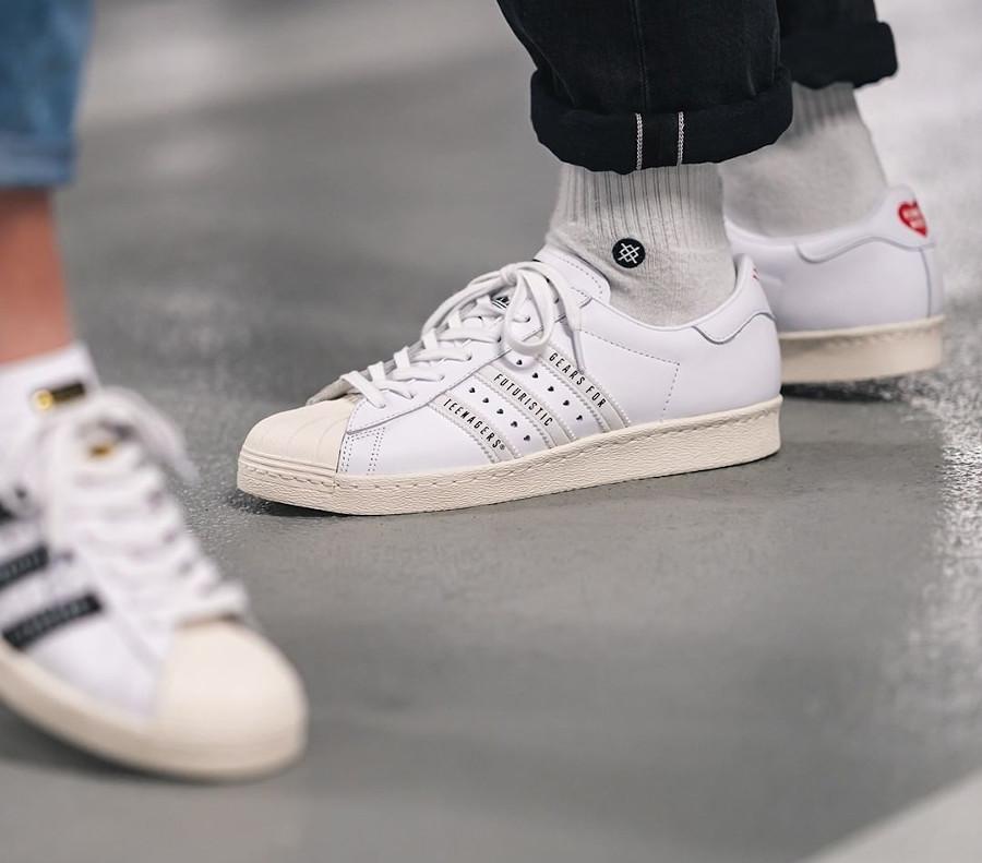 Adidas Superstar 80 Human Made FY0730