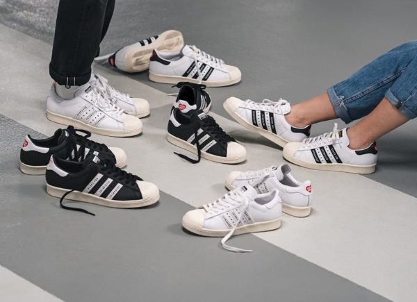 Adidas Superstar 80's Human Made Gears For Futuristic Teenagers