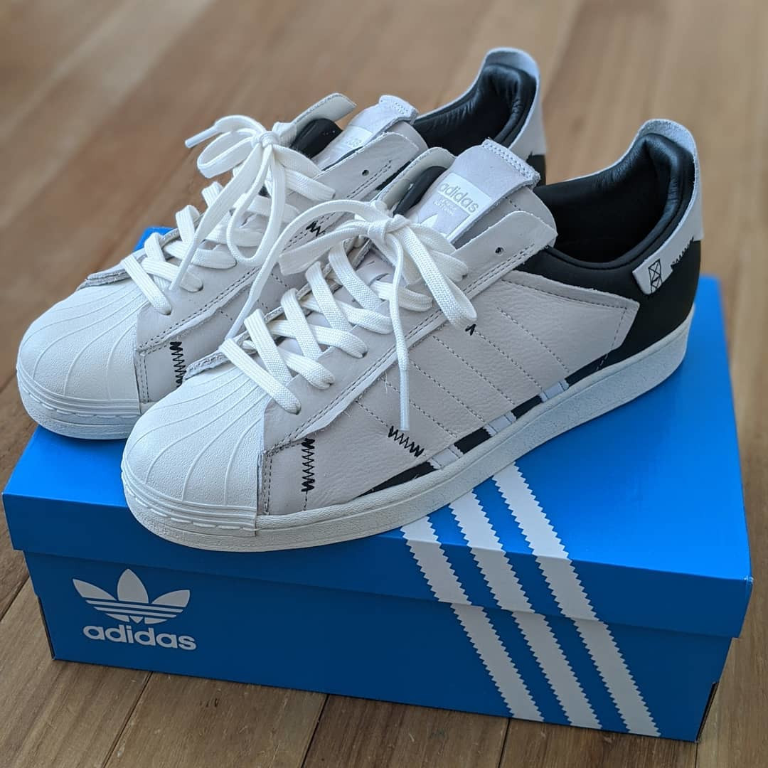 Adidas Superstar WS1 Cloud White Core Black (2)