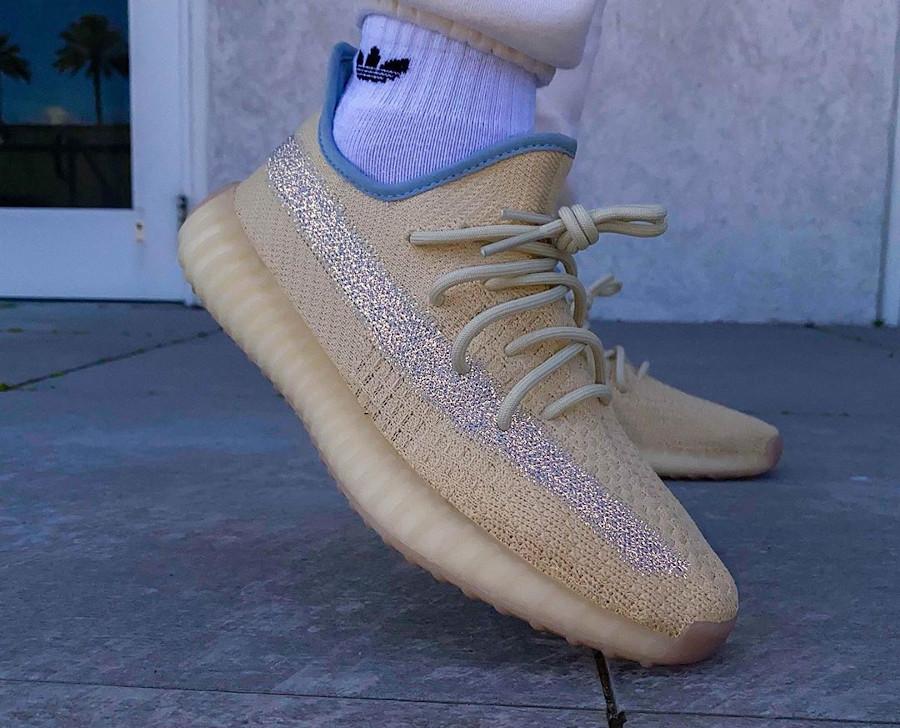Adidas Yeezy Boost 350 V2 Linen (4)