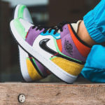 Women's Air Jordan 1 Mid SE 'Lightbulb' Multicolor