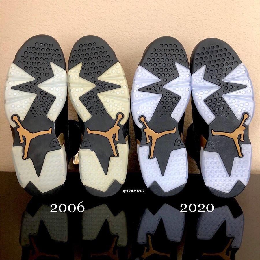 Air Jordan 6 DMP 2006 vs Air jordan 6 dmp 2020 (6)
