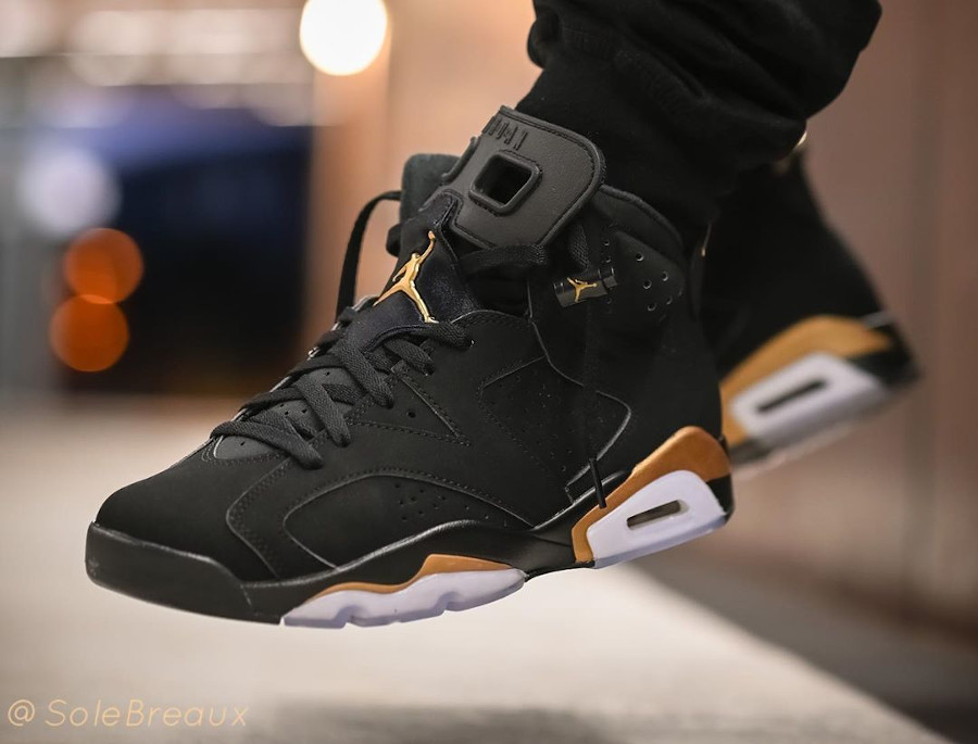 Air Jordan 6 Retro DMP 2020 Black Gold CT4954-007 (1)