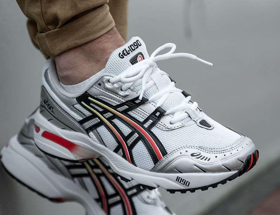 Asics Gel 1090 OG White Black (3)