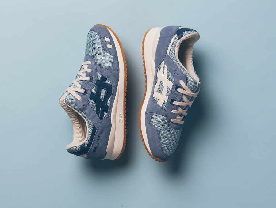 Asics Gel Lyte III OG Smoke Blue Grand Shark (Monozukuri Pack) (1)