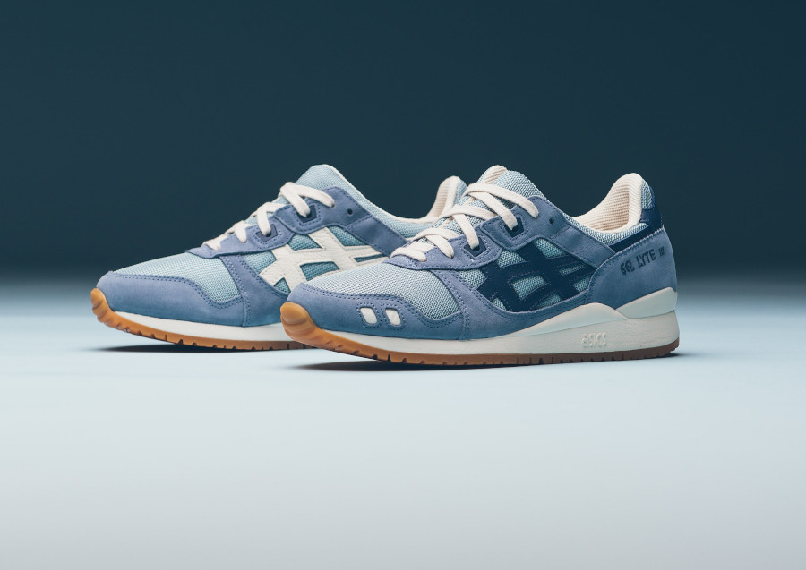 Asics Gel Lyte III OG Smoke Blue Grand Shark (Monozukuri Pack) (2)